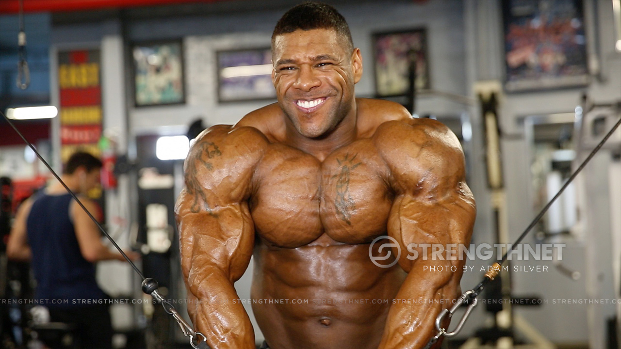 Ifbb Pro Nathan De Asha Trains Upper Body A Day After The