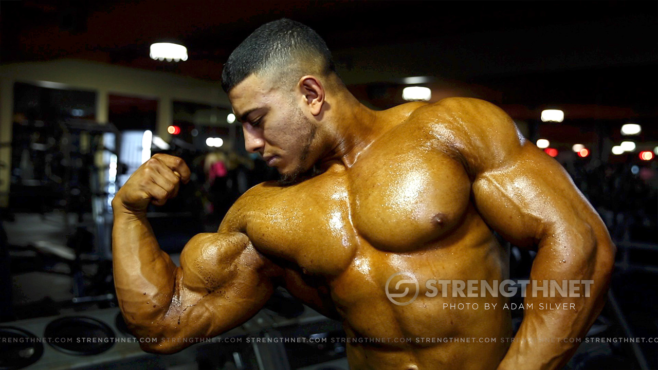 mohammad aburajouh trains upper body the day after the