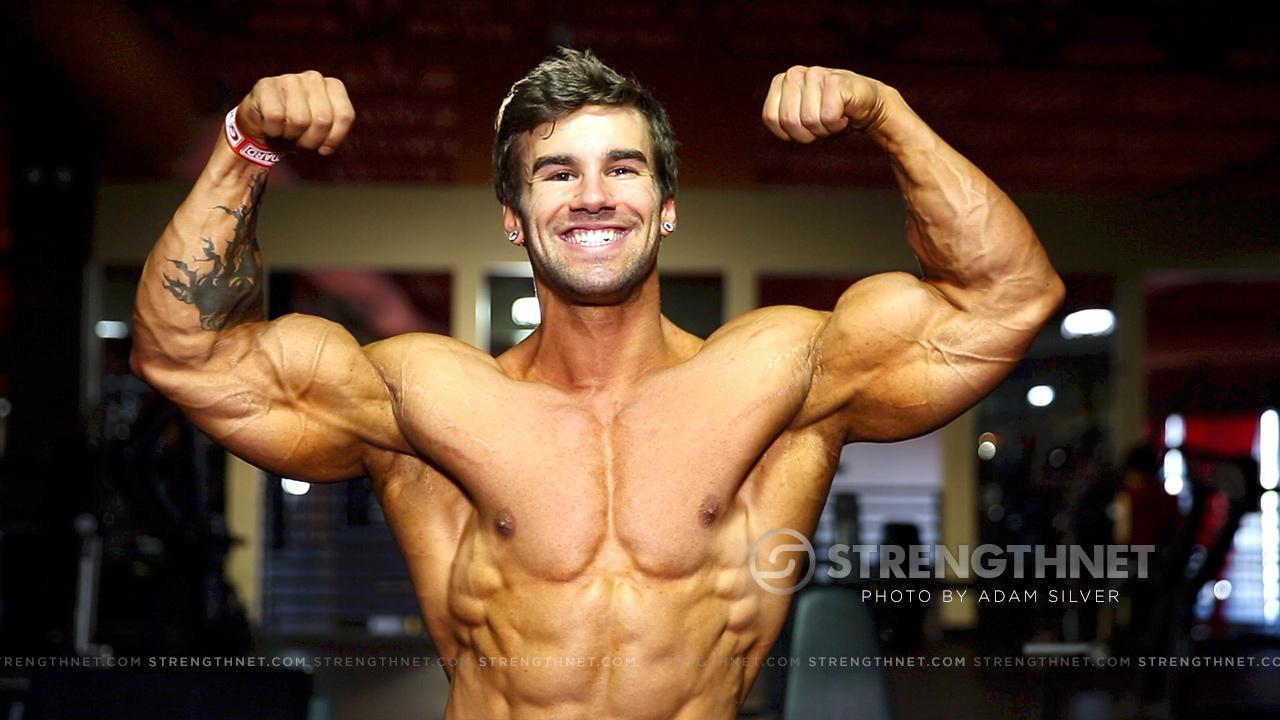 IFBB Classic Physique Pro Jake Burton Upper Body Workout