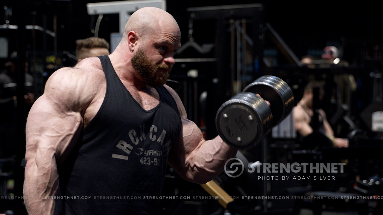 Massive Bodybuilder Ifbb Pro James Hollingshead Trains Heavy Chest Back And Biceps Strengthnet